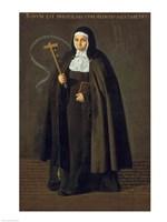 Madre Maria Jeronima de la Fuente, 1620 Fine-Art Print