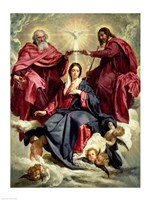 Coronation of the Virgin Fine-Art Print