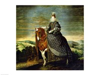 Portrait of Queen Margaret of Austria Fine-Art Print