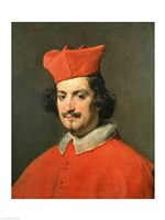 Portrait of Cardinal Camillo Astali Pamphili, 1650 Fine-Art Print