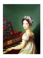 The Artist's Daughter at the Clavichord Fine-Art Print