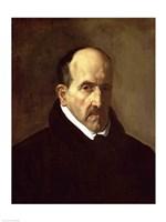 Portrait of Don Luis de Gongora y Argote Fine-Art Print
