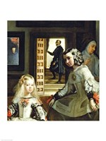 Las Meninas or The Family of Philip IV, c.1656, Detail Center Fine-Art Print