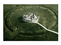 Stonehenge from the air Fine-Art Print