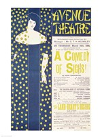 Poster advertising 'A Comedy of Sighs' Fine-Art Print
