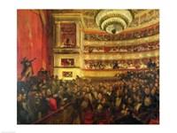 Performance of 'Hernani' Fine-Art Print