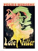 Folies Bergeres: Loie Fuller, France, 1897 Fine-Art Print
