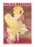 Poster advertising Loie Fuller Fine-Art Print