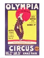 Bertram Mills circus poster, 1922 Fine-Art Print