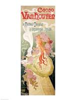 Poster advertising 'Cacao Van Houten', Belgium, 1897 Fine-Art Print