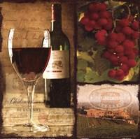 Burgundy Fine-Art Print
