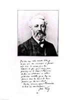 Portrait of Jules Verne Fine-Art Print