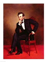 Portrait of Abraham Lincoln Fine-Art Print