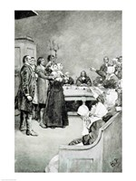 The Trial of a Witch Fine-Art Print