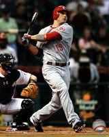 Joey Votto 2011 Action Fine-Art Print
