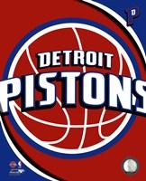 Detroit Pistons Team Logo Fine-Art Print