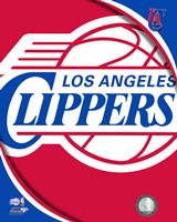Los Angeles Clippers Team Logo Fine-Art Print