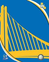 Golden State Warriors Team Logo Fine-Art Print
