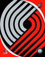 Portland Trail Blazers Team Logo Fine-Art Print