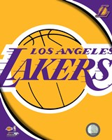 Los Angeles Lakers Team Logos Fine-Art Print