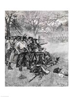 Lexington Green - 'If they want war, it may as well begin here' Fine-Art Print