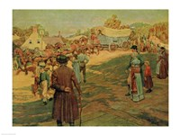 Carrying Powder to Perry at Lake Erie, 1911 Fine-Art Print