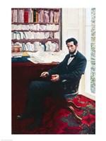 Portrait of Abraham Lincoln Fine-Art Print