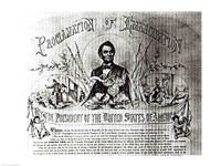 Proclamation of Emancipation by Abraham Lincoln, 22nd September 1862 Fine-Art Print