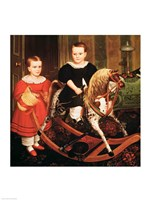 The Hobby Horse, c.1840 Fine-Art Print