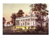 Washington's Home, Mount Vernon, Virginia Fine-Art Print