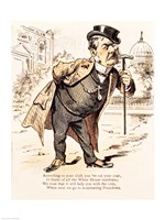 Caricature of Chester Alan Arthur, c.1883 Fine-Art Print