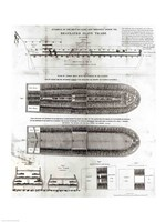 Stowage of the British Slave Ship 'Brookes' Under the Regulated Slave Trade Act of 1788 Fine-Art Print
