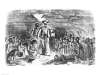 Scene in the Hold of the Slave Ship Fine-Art Print