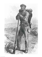 The Escaped Slave in the Union Army Fine-Art Print