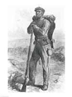 The Escaped Slave in the Union Army Fine-Art Print