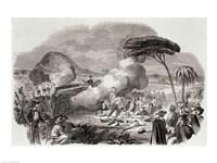 Bloody Massacre of Americans at Havana Fine-Art Print