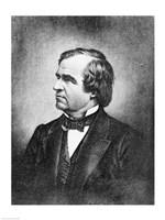 Portrait of Andrew Johnson Fine-Art Print