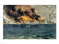 Bombardment of Fort Sumter Fine-Art Print