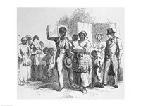A Slave Father Sold Away from his Family Fine-Art Print