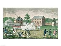 The Battle of Lexington Fine-Art Print