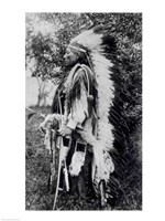 White Wolf, a Comanche Chief Fine-Art Print