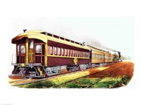 The Lightning Express Fine-Art Print