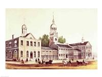 Independence Hall, Philadelphia, 1776 Fine-Art Print
