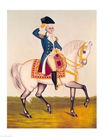 General Washington on a White Charger Fine-Art Print