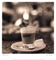 Caffe, Lucca Fine-Art Print