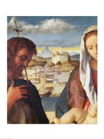 Madonna and Child with St.John the Baptist and a Saint Fine-Art Print
