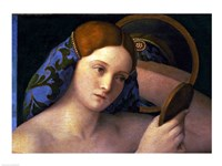 Young Woman at her Toilet Fine-Art Print