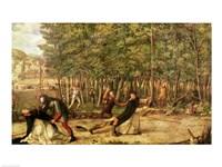 The Assassination of St. Peter Martyr Fine-Art Print