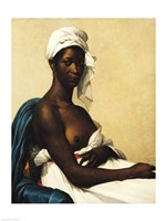 Portrait of a Negress Fine-Art Print