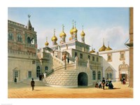 View of the Boyar Palace in the Moscow Kremlin Fine-Art Print